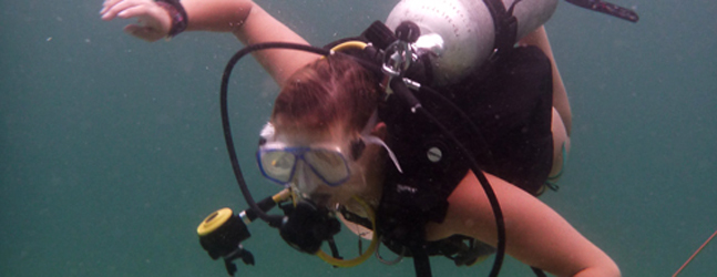 Girl Scouts explore new depths!