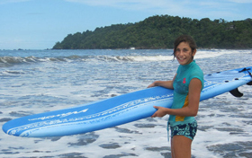 Hit the beach & learn to surf!